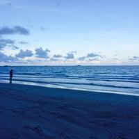 Photo taken at Pelangi Balok Beach Resort by Ima N. on 3/28/2014