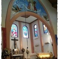 Photo taken at Gereja Katolik Kristus Raja by Reina H. on 4/7/2013