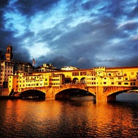 Photo taken at Ponte Vecchio by Kathy D. on 5/11/2013