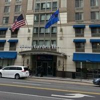 """Photo taken at Hilton Garden Inn Washington DC Downtown by WILFREDO """"WILO"""" R. on 3/2/2013"""