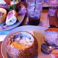 Photo taken at Panera Bread by Erin Nicole D. on 10/21/2012