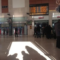 Photo taken at Padua Railway Station (QPA) by Luca L. on 12/9/2012