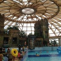 Photo taken at Aquaworld Resort & Spa by Marek Z. on 1/13/2013