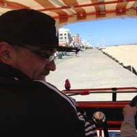 Photo taken at Wobbly Wheel Boardwalk Bicycle by Yasmin A. on 4/6/2013