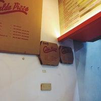Photo taken at Calda Pizza by Joseph Allen O. on 9/15/2013