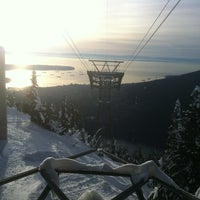 Photo taken at Grouse Gondola by Greg G. on 1/3/2013