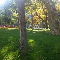 Photo taken at Bebek Parkı by Özge B. on 9/14/2012