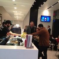 Photo taken at Macchiato Espresso Bar by Jay Y. on 10/8/2012