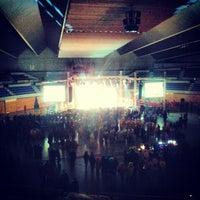 Photo taken at Palacio de los Deportes by Manuel V. on 2/8/2013