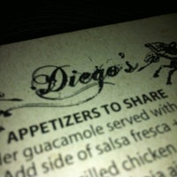 Photo taken at Diego's by Taylor V. on 11/27/2012
