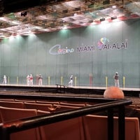 Photo taken at Casino At Miami Jai Alai by Charlie Q. on 1/30/2014
