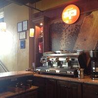 Photo taken at Sfizi Cafe by Jo on 10/12/2012