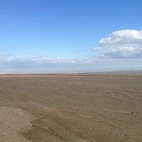 Photo taken at Camber Sands Beach by Bartek B. on 9/14/2012