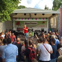 Photo taken at Stadtpark Hannover by Steffen H. on 7/23/2015