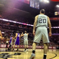 Photo taken at AT&T Center by Sean B. on 1/27/2013