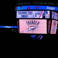 Photo taken at Chesapeake Energy Arena by Devonne D. on 4/15/2013