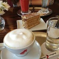 Photo taken at Julius Meinl Coffee House by Jennifer L. on 7/24/2013