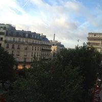 Photo taken at Best Western Hôtel Elysées Paris by Тонечка Х. on 10/4/2013