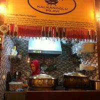 Photo taken at Tarihi Kalkanoğlu Pilavcısı by Buminhan T. on 10/19/2012