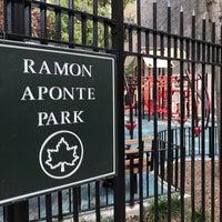 Photo taken at Ramon Aponte Park by Sean F. on 10/3/2016