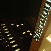 Photo taken at Sheraton Frankfurt Congress Hotel by Rainer S. on 11/2/2012