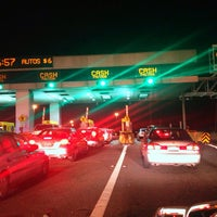 Photo taken at Bay Bridge Toll Plaza by Kevin K. on 1/1/2013