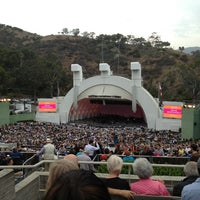 Photo taken at The Hollywood Bowl by Elif V. on 7/22/2013