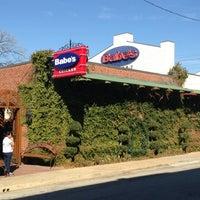 Photo taken at Babe's Chicken Dinner House by Kurt T. on 1/21/2013