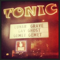 Photo taken at Tonic Lounge by Gizmo P. on 3/25/2013