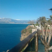 Photo taken at Antalya Hotel by Solvita R. on 4/5/2013