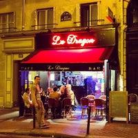 Photo taken at Le Dragon by Michael P. on 5/25/2014