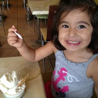 Photo taken at Gnam Gnam Gelato by Mary N. on 8/15/2013