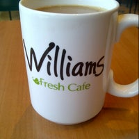 Photo taken at Williams Fresh Cafe by Adam M. on 1/29/2013