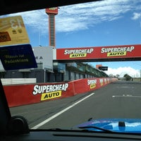 Photo taken at Mount Panorama by Ainslee P. on 1/27/2013