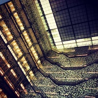 Photo taken at NYU Bobst Library by Emma C. on 8/18/2013