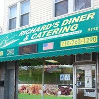 Photo taken at Richard's Diner by Jansen S. on 3/24/2014