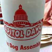 Photo taken at Capitol Dawg by Jeff A. on 10/19/2012