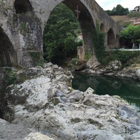 Photo taken at Cangas de Onís by Carlos C. on 7/27/2015