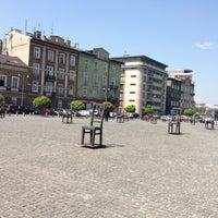 Photo taken at Plac Bohaterów Getta by Kateryna ✌. on 5/8/2013