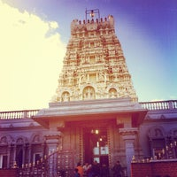 Photo taken at London Sri Murugan Temple by Ravimohan R. on 1/1/2013