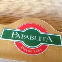 Photo taken at Papablita by Gustavo P. on 12/11/2012