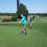 Photo taken at Montauk Downs State Park Golf Course by Vicario Brensley P. on 8/8/2014