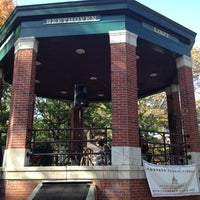 Photo taken at Church Square Park by Anthony T. on 10/20/2012