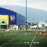 Photo taken at Polideportivo Tigres UANL by Claudia P. on 10/9/2016