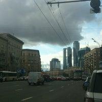 Photo taken at Большая Дорогомиловская улица by Руслан D. on 10/13/2012
