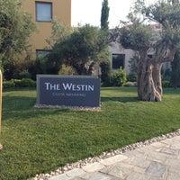 Photo taken at The Westin Resort, Costa Navarino by Liza K. on 6/21/2013
