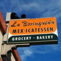 Photo taken at La Borinqueña Mex-icatessen by Jef P. on 8/11/2015