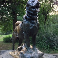Photo taken at Balto Statue by Reed S. on 7/19/2013