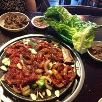 Photo taken at Mill Korean Restaurant by Karen D. on 5/15/2013