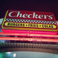 Photo taken at Checkers by Xavier M. on 10/12/2013